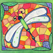 Dragonfly Jewel Poster