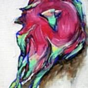 Dragonfruit Poster by Sheila Tajima
