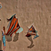 Dragons In The Railyard - Santa Fe #2 Poster