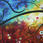 Drama Unleashed 2 Poster by Megan Duncanson