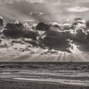 Dramatic Dutch Coast Poster