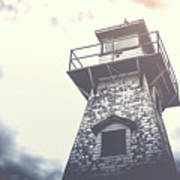 Dramatic Lighthouse Poster