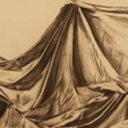 Draped Fabric Poster