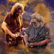 Dream Colors  Jerry Garcia Greatful Dead Poster