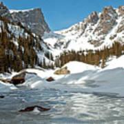 Dream Lake Rocky Mountain Park Colorado Poster
