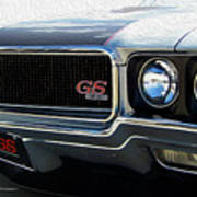 Buick With Gas Poster