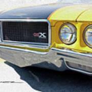 Yellow Wasp Gsx Poster