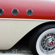 Triple-pipe Buick Poster