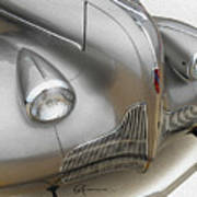 Fender Flare Buick Poster