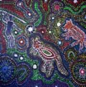 Dreamtime Of The Dingo Poster