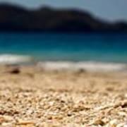 Dreamy Shell Beach Poster