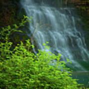 Dreamy Waterfalls Poster by Iris Greenwell
