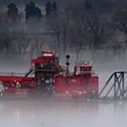 Dredge In Fog 2 Poster