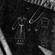 Dressmaking Handiwork Poster