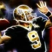 Drew Brees New Orleans Saints Poster