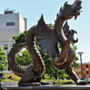 Drexel University Dragon - Philadelphia Pa Poster