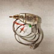 Drill Motor, Green Trigger Poster