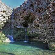 Dripping Springs Falls Poster