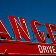 Drive In- California  Poster