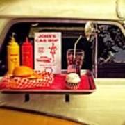 John's Car Hop Poster