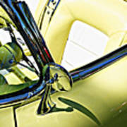 Driver's Seat -- 1958 Chevrolet Corvette At The Golden State Classic Car Show, Paso Robles Ca Poster