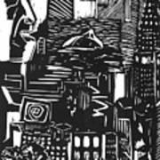 Drowning In Metropolis Poster