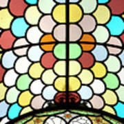 Dublin Art Deco Stained Glass Poster