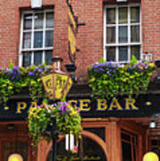Dublin Ireland - Palace Bar Poster