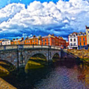 Dublin's Fairytales Around Grattan Bridge 2 Poster