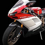 Ducati 1098s Motorcycle Poster