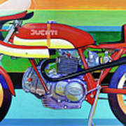 Ducati 750 Ss Corsa Poster