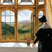 Duchess Of Abercorn Looking Out Of A Window Poster