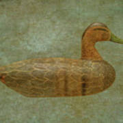 Duck Decoy Number Three Poster