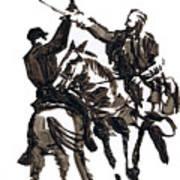 Dueling Sabres Poster