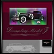 Duesenberg Model J Poster