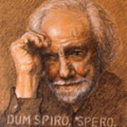 Dum Spiro Spero Poster