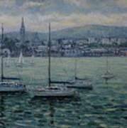 Dun Laoghaire Harbour Dublin Poster
