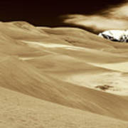 Dunes And Peak Poster