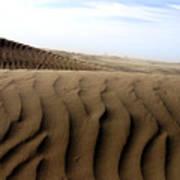 Dunes Of Alaska Poster