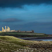 Dunstanburgh Castle In Northumberland Poster