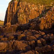 Duntulm Castle Isle Of Skye Poster