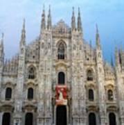 Duomo - Milan -italy Poster