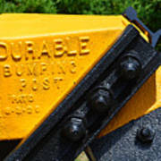 Durable Bumping Post Poster