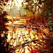 Durance Lake Poster