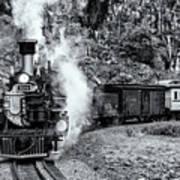 Durango Silverton Train Bandw Poster