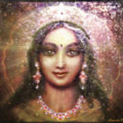 Vision Of The Goddess - Durga Or Shakti Poster