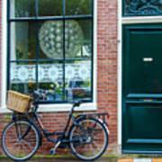 Dutch House Facade Poster