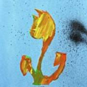 Dutch Pride Yellow And Orange Poster