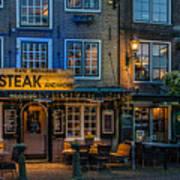 Dutch Steak Poster