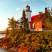 Eagle Harbor Lighthouse, Michigan Poster